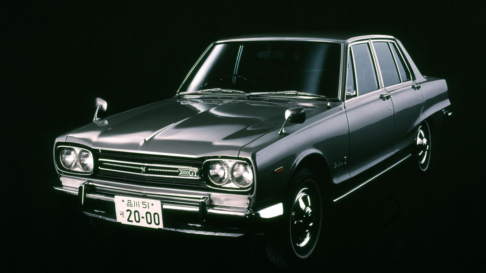 日産「スカイライン」の60年、全モデルを写真で振り返る① - 1968_2000GT_GC10-source