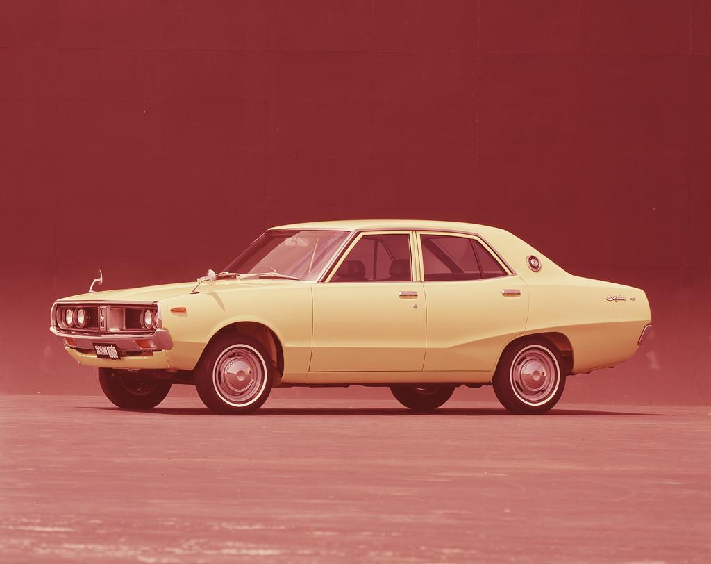 日産「スカイライン」の60年、全モデルを写真で振り返る② - 1972_1600Sedan_STD