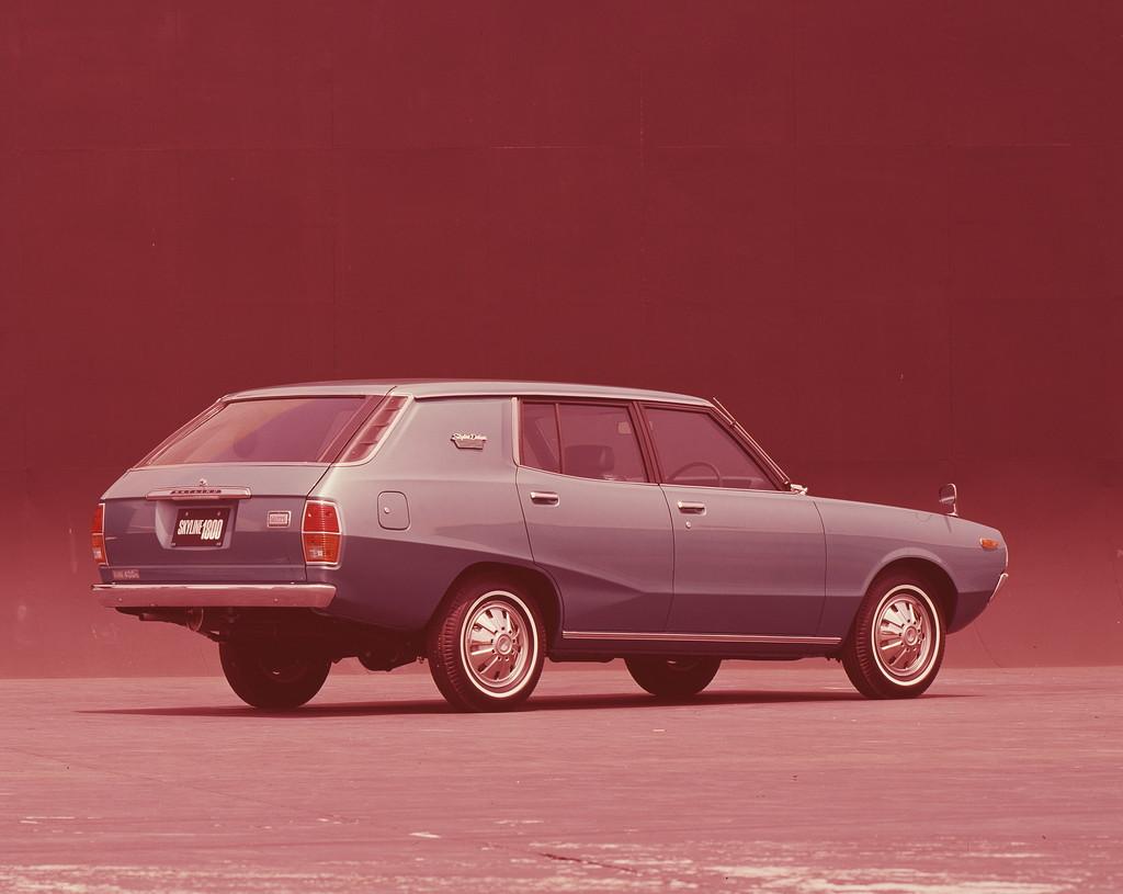 日産「スカイライン」の60年、全モデルを写真で振り返る② - 1972_1800Van_DX_00