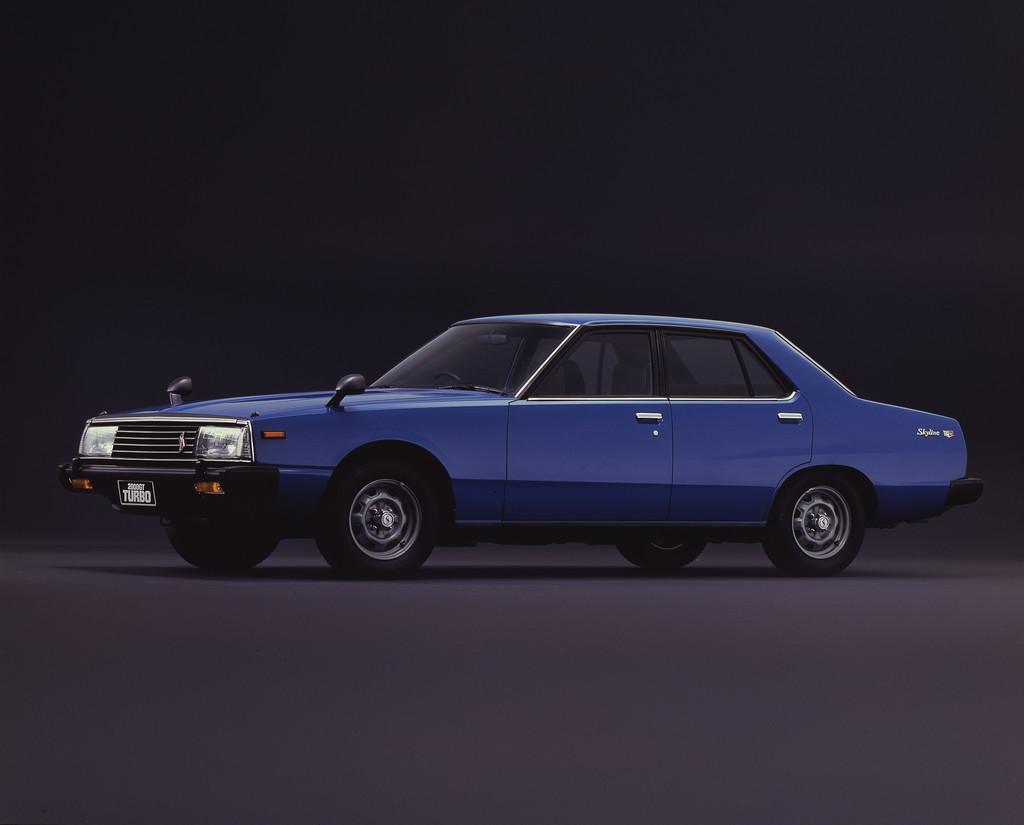 日産「スカイライン」の60年、全モデルを写真で振り返る② - 1980_Sedan_2000Turbo_GT-E_S
