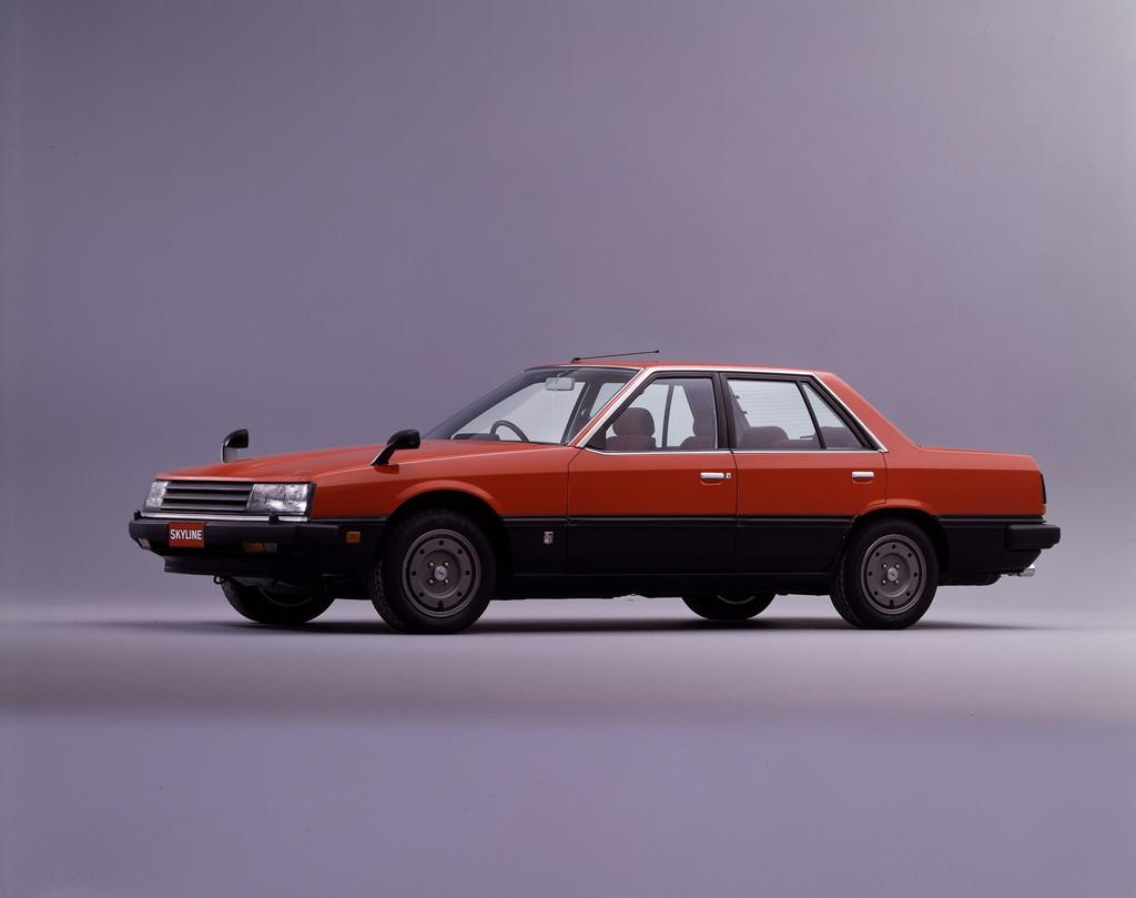 日産「スカイライン」の60年、全モデルを写真で振り返る② - 1982_Sedan_2000_RS