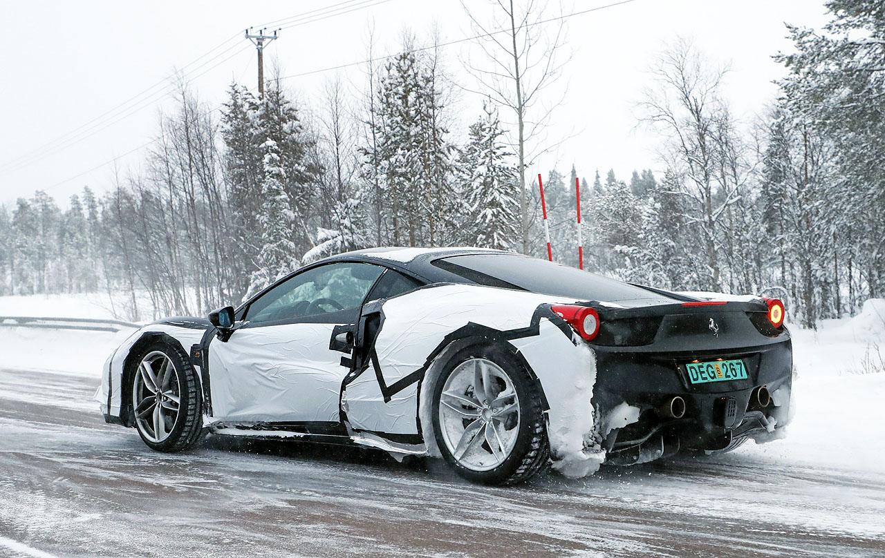 【スクープ】これがフェラーリ「新型ディーノ」な動かぬ証拠とは? - Ferrari dino 2018 (8)