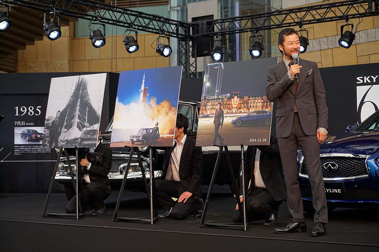 浅野忠信さんが日産「スカイライン」60周年記念イベントに登場 - NISSAN SKYLINE 60th EVENT (7)
