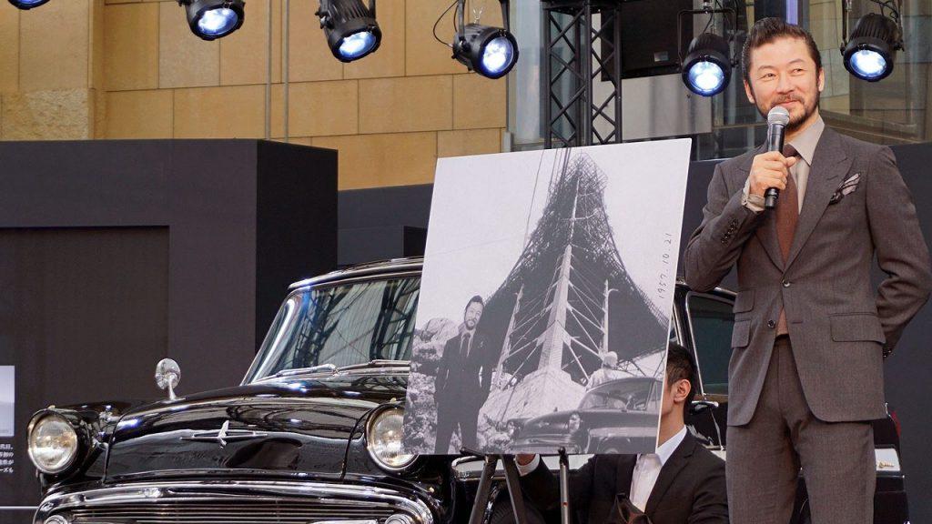 浅野忠信さんが日産「スカイライン」60周年記念イベントに登場 -