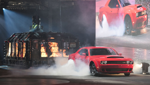 Bosch10 - 840-horsepower 2018 Dodge Challenger SRT Demon debuts in New York