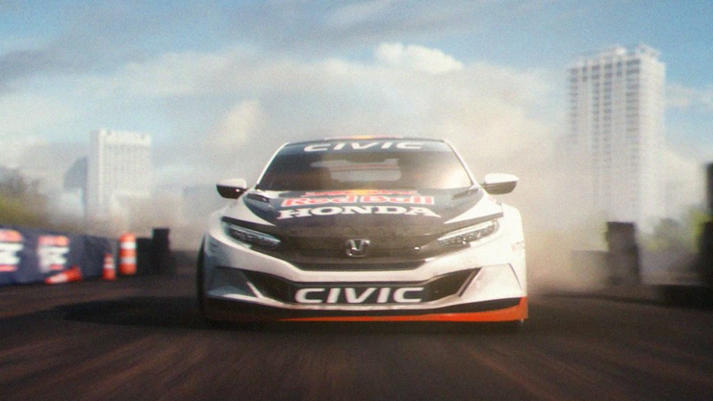Racing-Inspired Brand Campaign Heralds New Honda Performance Mod