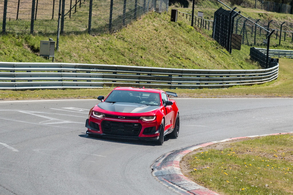 At 7:16.04, the 2018 Chevrolet Camaro ZL1 1LE is the fastest Camaro to ever lap the Nürburgring Nordschleife.