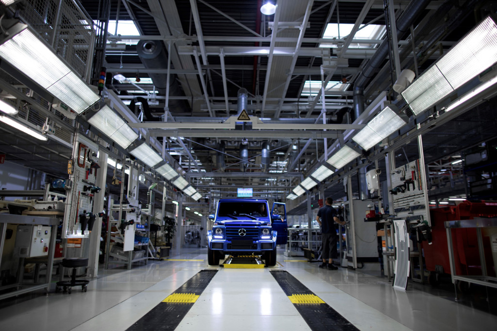 Produktionsrekord für Offroad-Ikone G-Klasse: 300.000ste G-Klasse lief in Graz vom Band