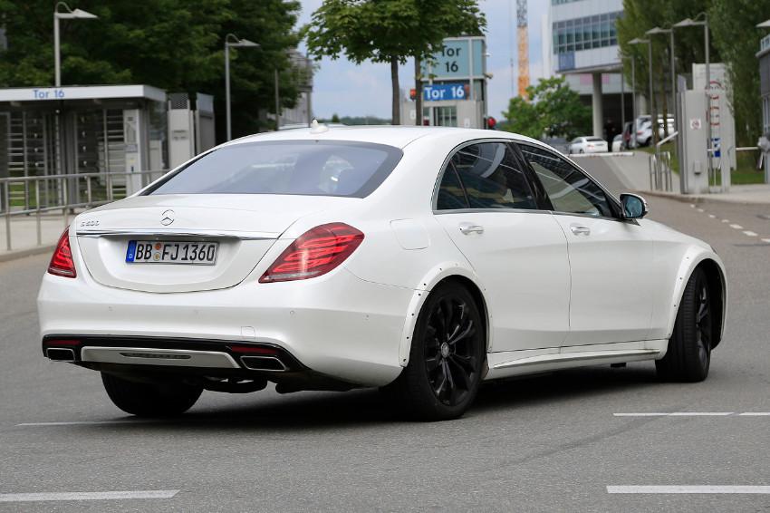 Mercedes S-Class Mule 007