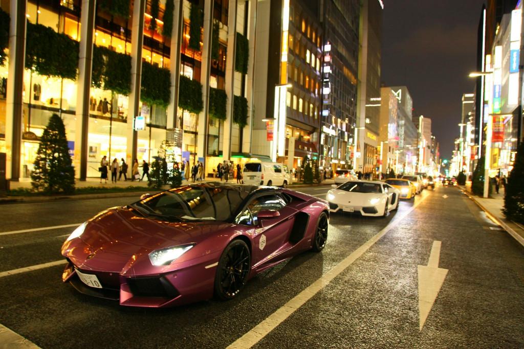 Stelvio_08 - Lamborghini-Day-Tokyo-parade-1